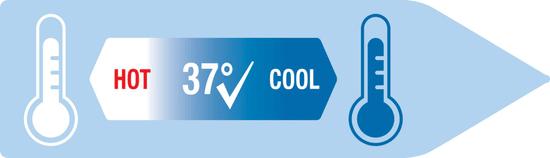 Nuk FC+ láhev s kontrolou teploty 150 ml
