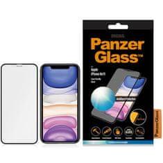 PanzerGlass Anti-Glare staklo za iPhone Xr/11, kaljeno, crno