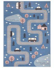 Hanse Home Detský koberec Adventures 104536 Sky-blue 80x150