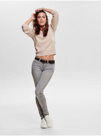 Jacqueline de Yong béžový svetr Shanon