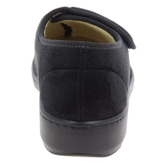 Podowell AMIRAL zdravotní domácí obuv unisex černá PodoWell Velikost: 36