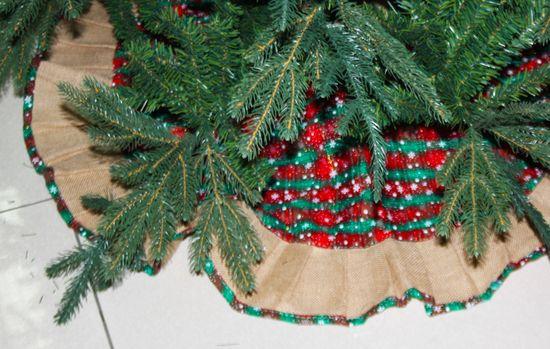 DUE ESSE Kryt vánočního stojanu Ø 95 cm