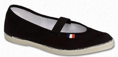 Toga dječje papuče, crna