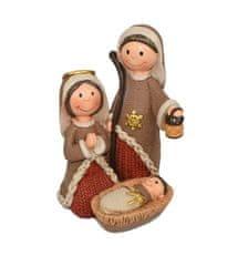 DUE ESSE Božični prizor svete družine, 13 cm