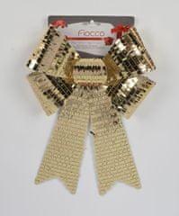 DUE ESSE božična mašnja s filtri, zlata, 35 cm