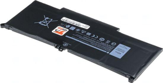 T6 power Baterie T6 power Dell Latitude 7280, 7290, 7380, 7390, 7480, 7490, 7500mAh, 57Wh, 4cell, Li-pol