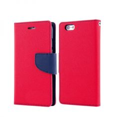 Havana Fancy Diary ovitek za Samsung Galaxy A51 A515, preklopni, rdeče-moder