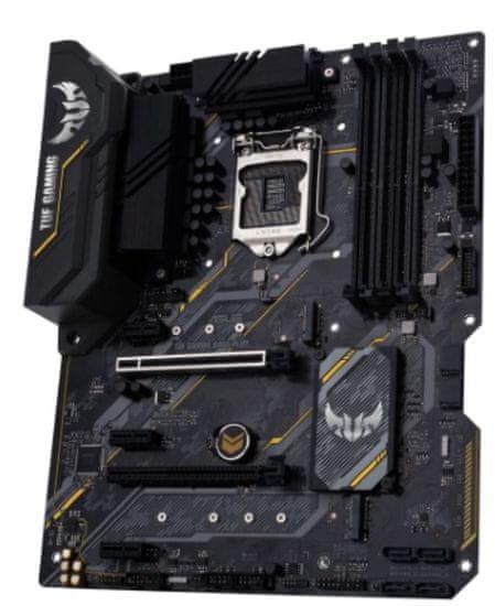 Asus TUF Gaming B460-Plus osnovna plošča, DDR4, LGA 1200, ATX