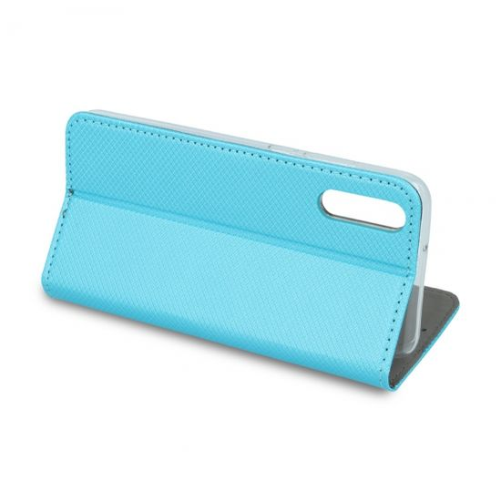 Havana torbica za Samsung Galaxy A20e A202, magnetna, preklopna, turkizno modra
