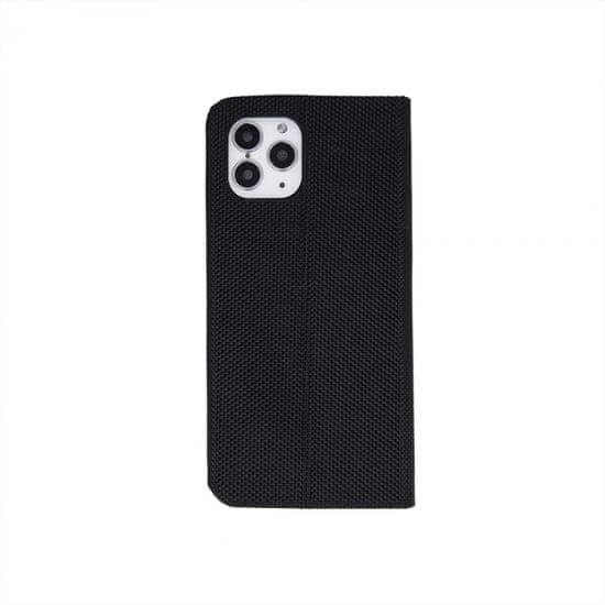 Onasi Moon ovitek za Samsung Galaxy A50/505, preklopni, črn