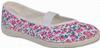 Toga lány tornacipő, rózsaszín virág, 24