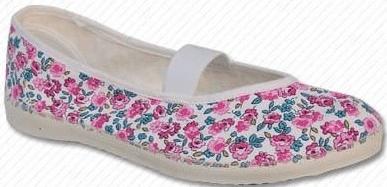 Toga lány tornacipő, rózsaszín virág