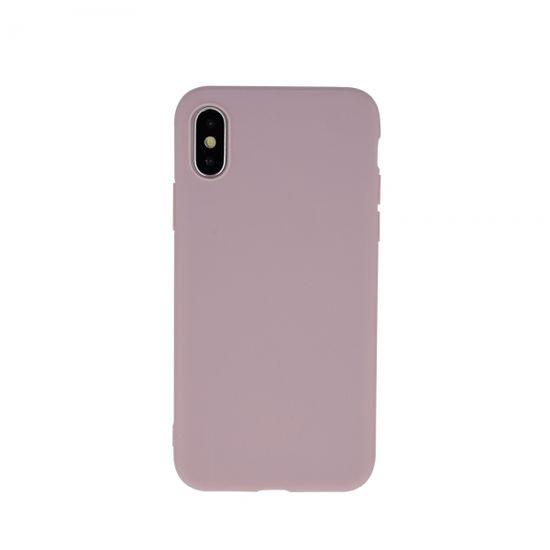 Ovitek za Samsung Galaxy S20 G980, silikonski, mat roza