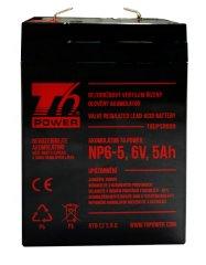 T6 power Akkumulátor NP6-5, 6V, 5Ah