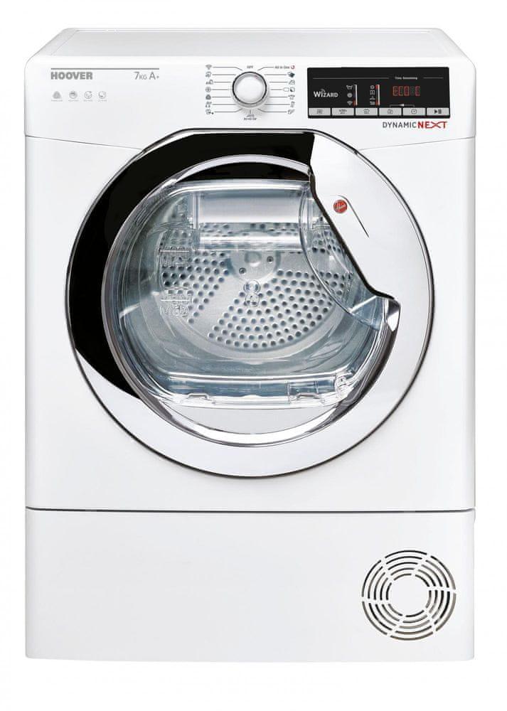 Hoover sušička prádla DXO4 H7A1TCEX-S + 5 let záruka