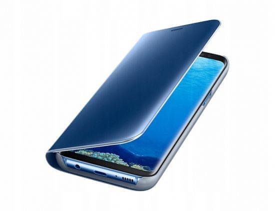 Onasi Clear View za Samsung Galaxy A21s A217, modra
