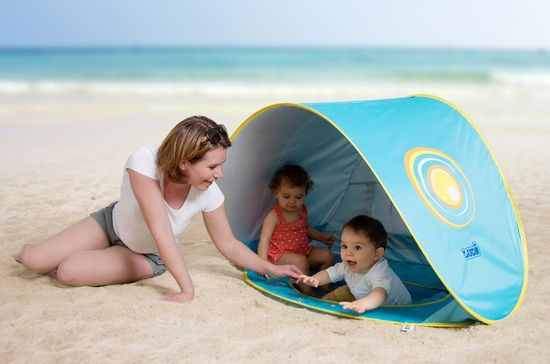 Ludi Šotor z bazenom anti-UV za otroke
