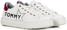 Tommy Hilfiger dekliški teniski T3A4-30804-1015X010, 30, beli/rdeči