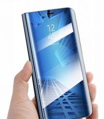 Onasi Clear View ovitek za Huawei Y6p, preklopni, moder