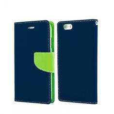 Havana Fancy Diary ovitek za Samsung Galaxy A71 A715, preklopni, modro-zelen