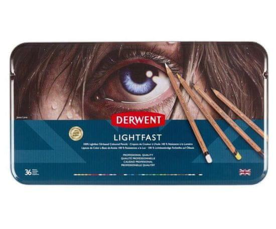 DERWENT Pastelky umělecké lightfast sada (36ks),