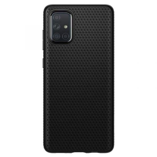 Air ovitek za Samsung Galaxy A71 A715, silikonski, črn