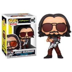 Funko POP! Cyberpunk 2077 figurica, Johnny Silverhand 2 #592
