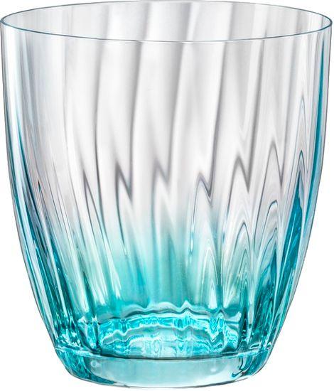 Crystalex KATE sklenice optic barevná 300 ml 6 ks
