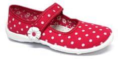 Ren But Lány vászoncipő 33-415_0040, 28, piros