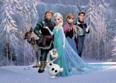 AG design fototapeta Heroji Frozen II na gorski planoti, 156 x 112 cm