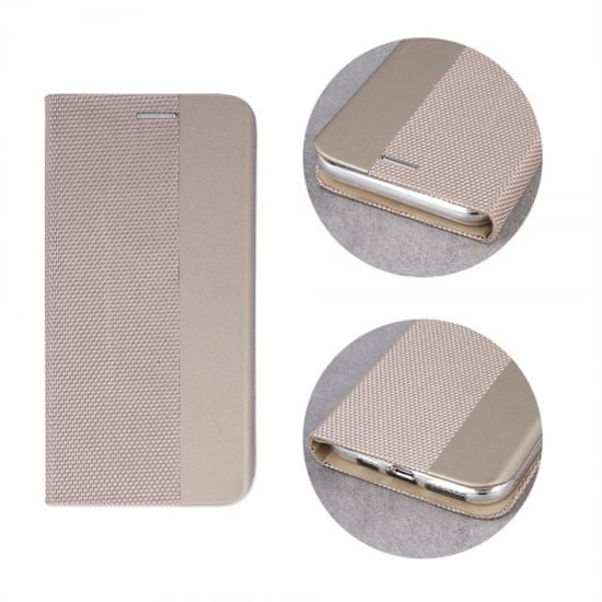 Onasi Moon ovitek za Apple iPhone SE 2020/7/8, preklopni, magnetni, zlat