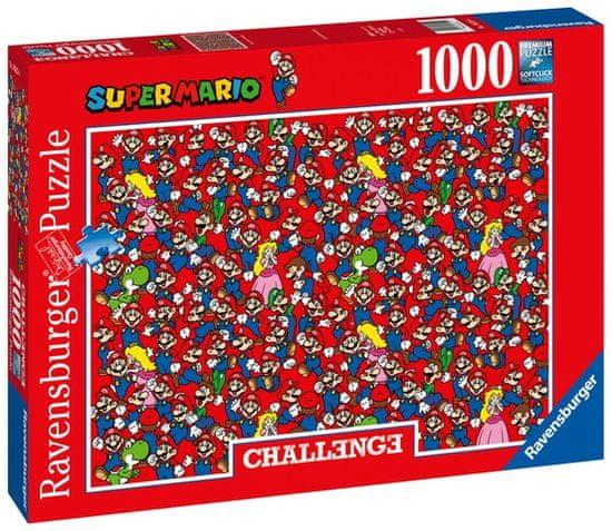 Ravensburger sestavljanka 165254 Super Mario Izziv, 1000-delni