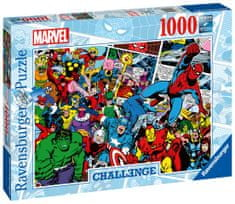Ravensburger Puzzle 165629 Marvel Výzva 1000 dielikov