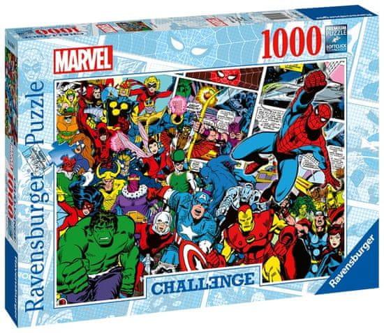 Ravensburger Puzzle 165629 Marvel Výzva 1000 dílků