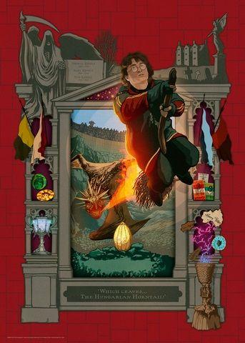 Ravensburger Puzzle 165186 Harry Potter 1000 dílků