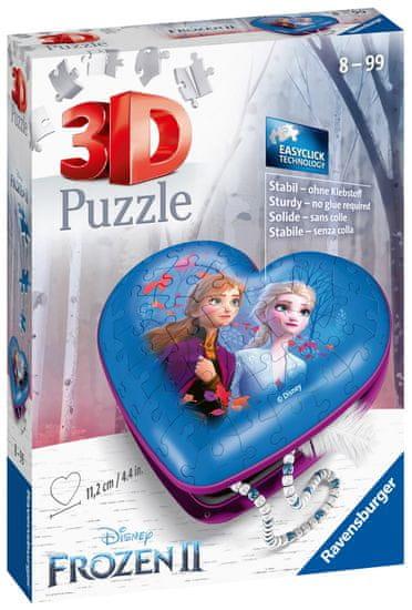 Ravensburger 3D Puzzle 112364 Srce Disney Ledeno kraljestvo 2, 54 dijela