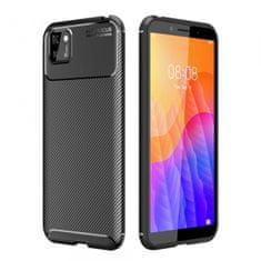ovitek Fokus za Huawei Y5p, silikonski, črn