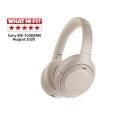 Sony brezžične slušalke WH-1000XM4, model 2020, srebrne