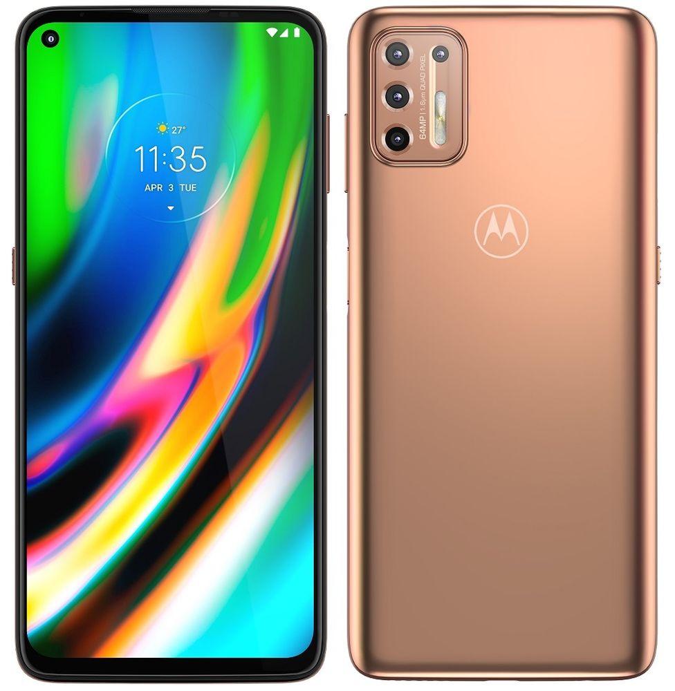 Motorola Moto G9 Plus, 4GB/128GB, Gold - zánovní