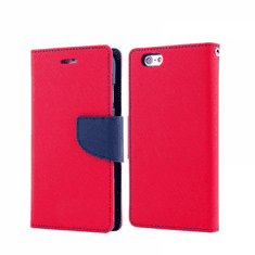 Havana Fancy Diary ovitek za Huawei Y5p, preklopni, rdeče-moder