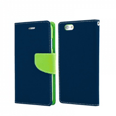 Havana Fancy Diary ovitek za Huawei Y5p, preklopni, modro-zelen