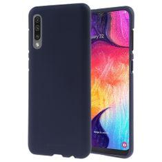 Goospery Soft Feeling ovitek za Samsung Galaxy A51 A515, silikonski, temno moder