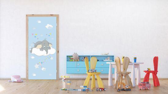 AG design Fototapeta Dumbo spogląda w dół 90 x 202 cm