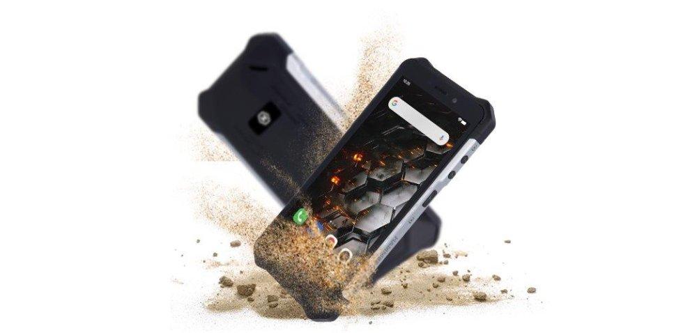myPhone Hammer Iron 3 LTE, 3GB/32GB, Silver - zánovní