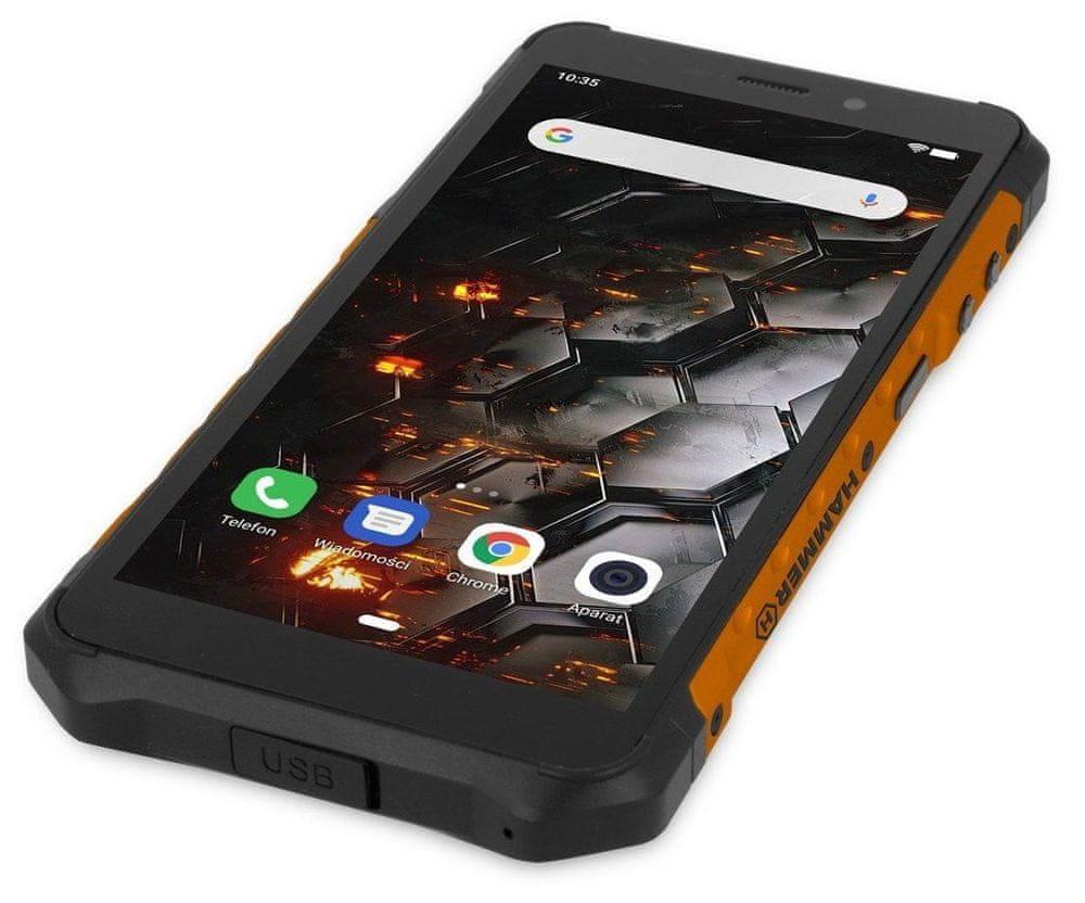 myPhone Hammer Iron 3 LTE, 3GB/32GB, Orange - zánovní