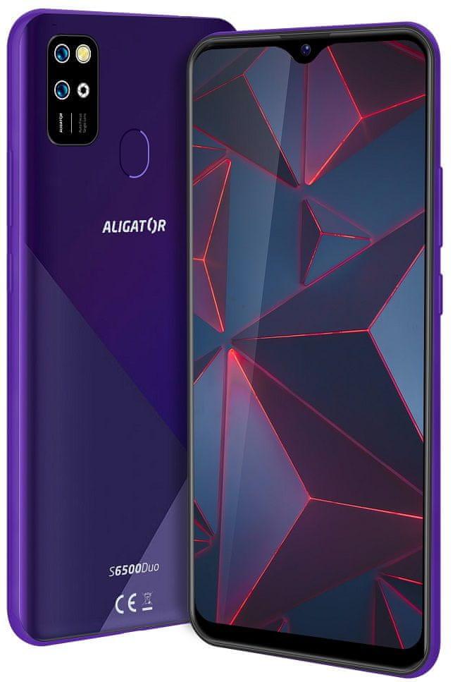 Aligator S6500 Duo, 2GB/32GB, fialový