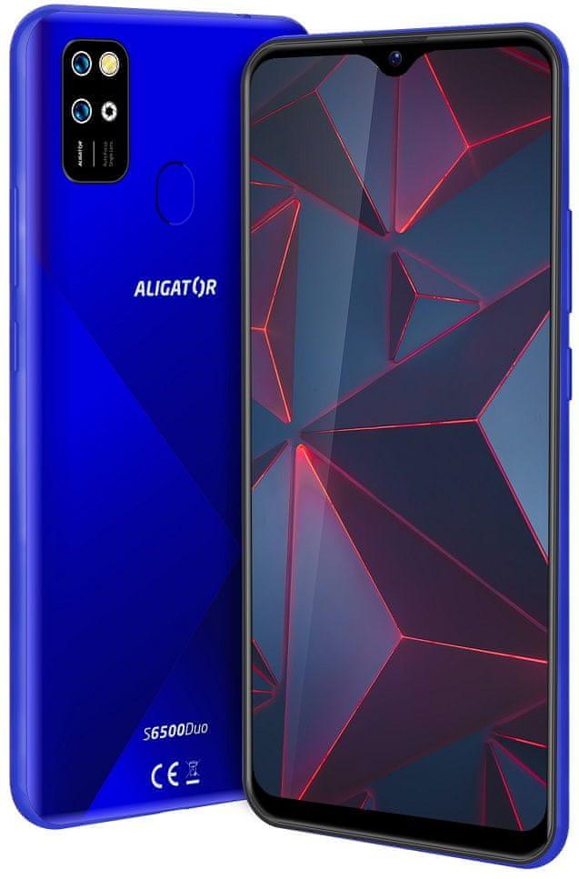 Aligator S6500 Duo, 2GB/32GB, modrý