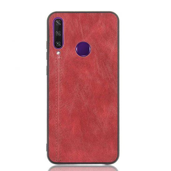 Eko ovitek za Huawei Y6p, silikonski, rdeč
