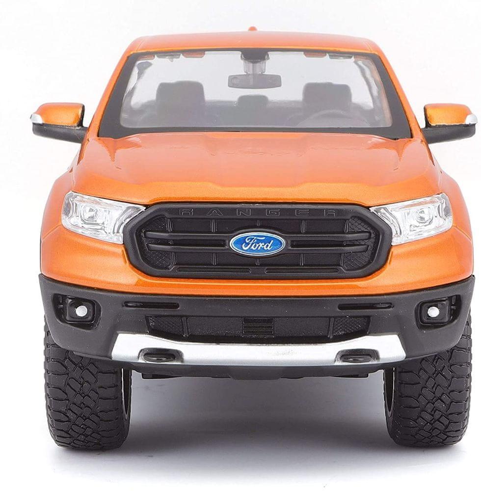 Maisto Ford Ranger 2019 - oranžová