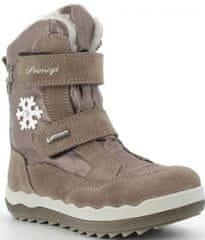 Primigi 6381611 dekliški zimski čevlji, rjavi, 28